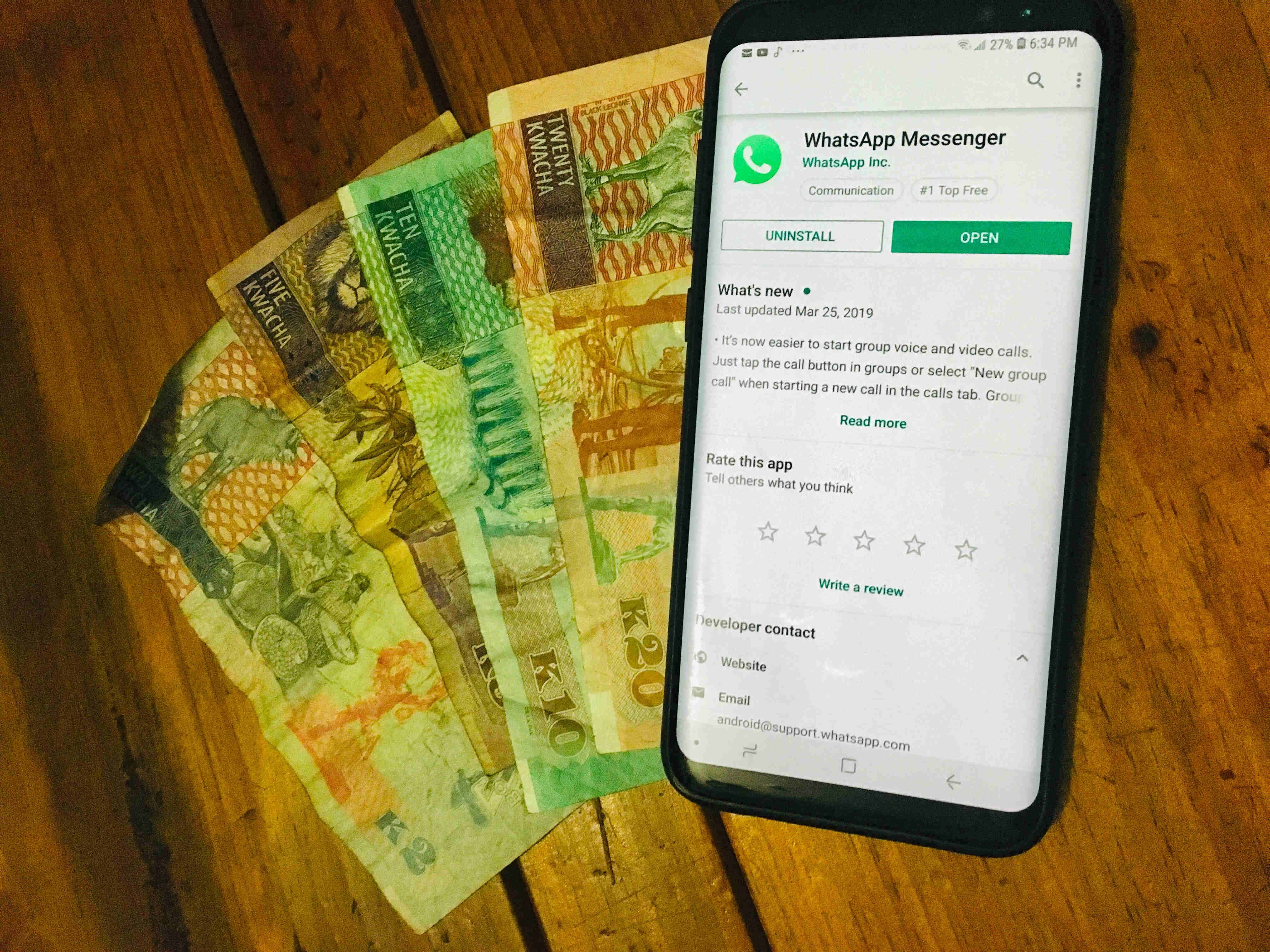 WhatsApp or social media tax in Zambia, what can happen?