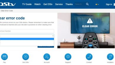 dstv zambia clear error codes