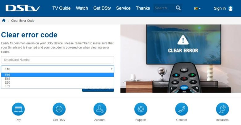 Multichoice: How to easily clear DStv and GOtv errors - Adsource