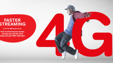 Airtel Zambia 4G free 5GB and 60 minutes LTE offer