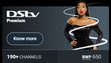 DStv Botswana package prices