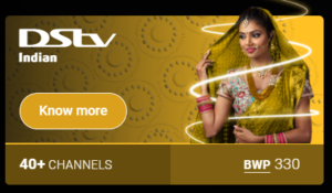 DStv Botswana package prices Indian